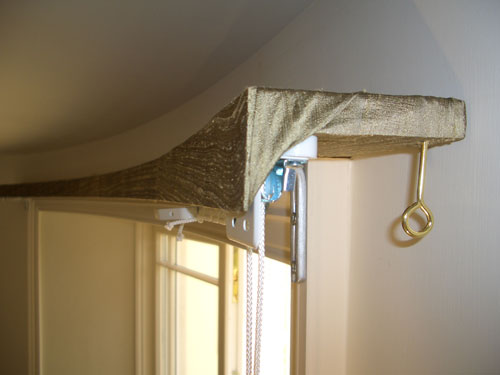 Covered Lath And Fascia Curtain Track Blind Amp Pole
