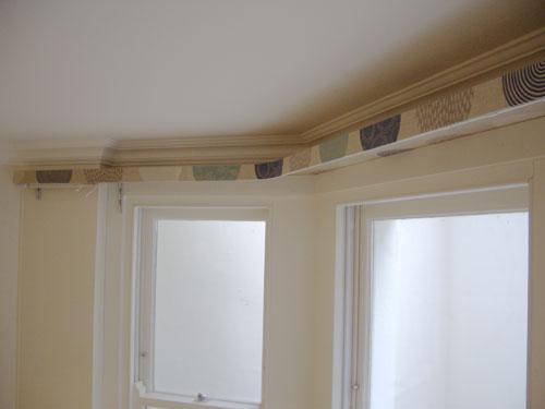Covered Lath And Fascia Curtain Track Blind Amp Pole